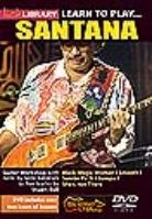Lick Library - Santana