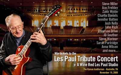 Les Paul Tribute Concert