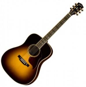The Gibson Songwriter Deluxe Standard in Vintage Sunburst